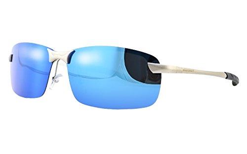 db1a88352c Dreamviva Polarized Mirror Sunglasses Metal Frame Anti-Glare ...