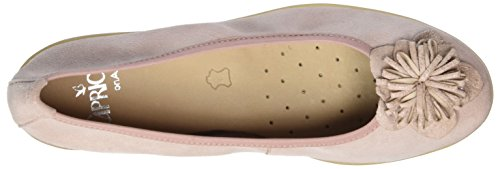 Caprice Damen 22153 Geschlossene Ballerinas Pink (ROSE COMB)