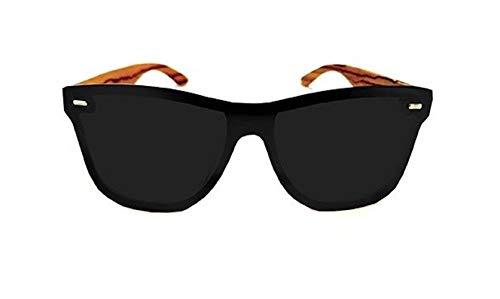 Lunettes Sunglasses Santorini soleil de Noir noir Homme Ua71qxw7