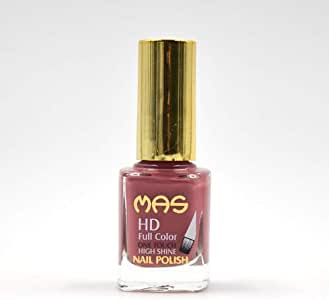 Mas High Shine Nail Polish - 12 ML, Hippie Pink