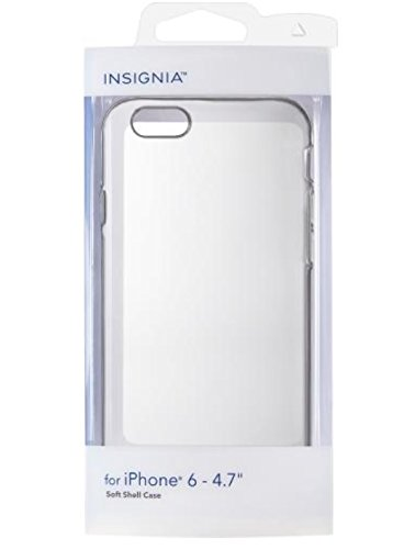 Insignia - Case for Apple iPhone 6 - Clear