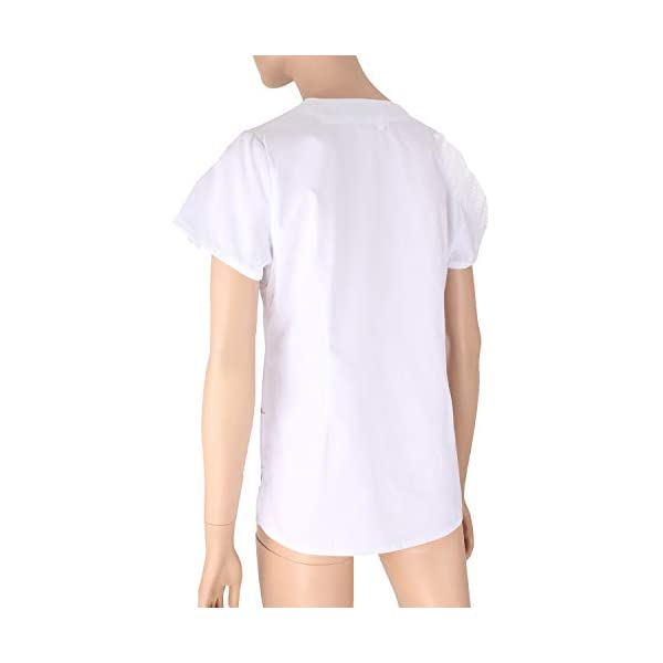 MISEMIYA Medical Uniform Scrub Top Camisa de Sanitario Unisex Adulto 4