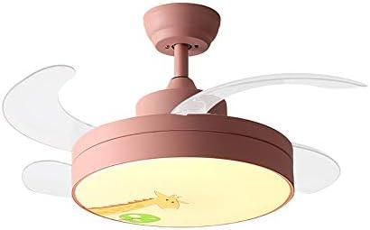 XGBIN Lámpara de Ventilador de Techo, Ventilador de Techo LED ...
