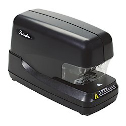 Swingline 69270 High-Capacity Flat Clinch Electric Stapler with Jam Release, 70-Sheet Cap, Black by Swingline (Image #1)