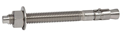 CONFAST 1/2'' x 7'' 316 Stainless Steel Wedge Anchor (25 per box) by CONFAST