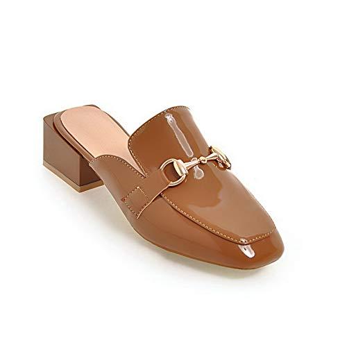 Jaune SDC05819 Abricot AdeeSu EU Femme 5 Sandales 36 Compensées qPnI6O