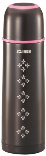Zojirushi SVGG50TA Tuff Slim Stainless Vacuum Bottle, 17-Ounce, Brown by Zojirushi