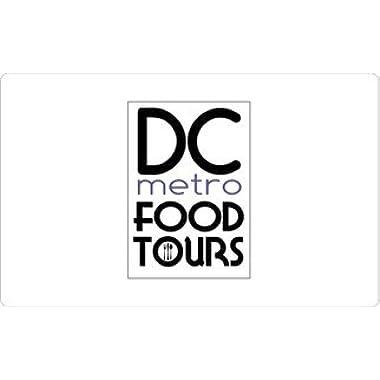 DC Metro Food Tours Gift Card ($100)