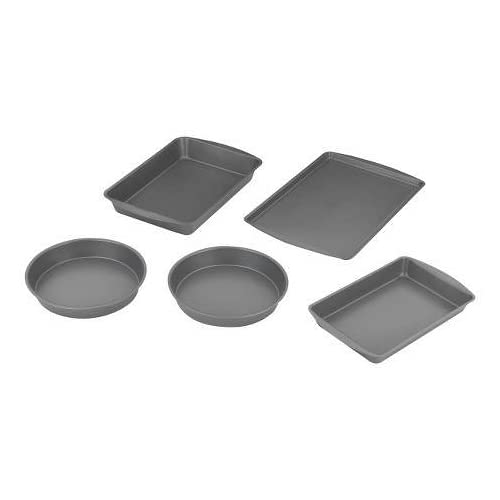 Room Essentials 5 Piece Bakeware Box Set - Grey