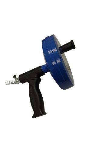 25ft 1/4' Drain Snake Cleaner Clog Sink Cleaning Plumbing Plumber Pro Opener