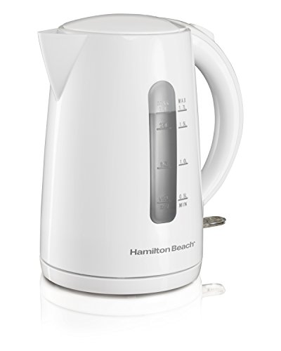 electric tea kettle white - 1