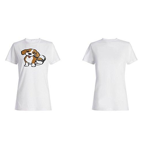 Hundehundeliebhaber Haustierneuheit lustiges Geschenk Damen T-shirt d512f