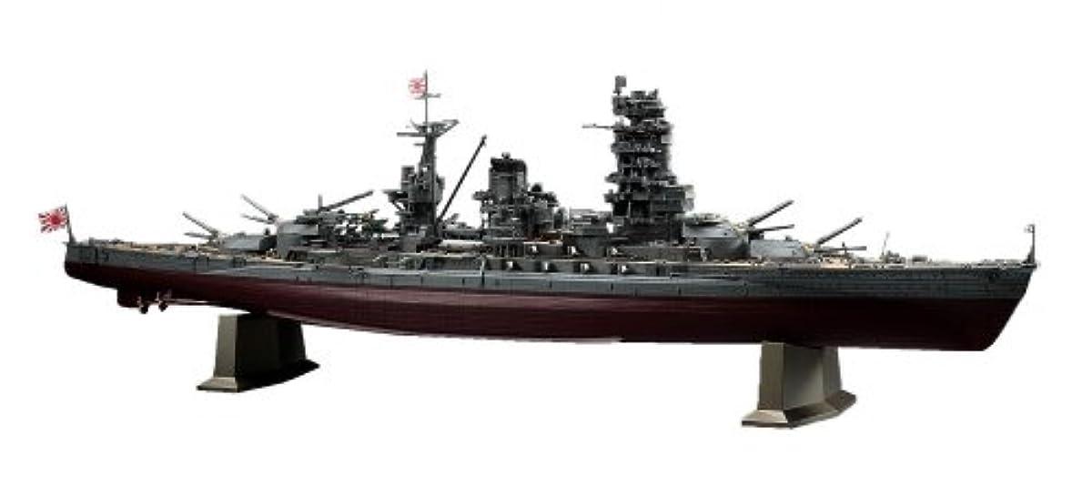 [해외] 하세가와 1/350 일본 해군 일본 해군 전함 나가토 레이테충 해전 프라모델  40073