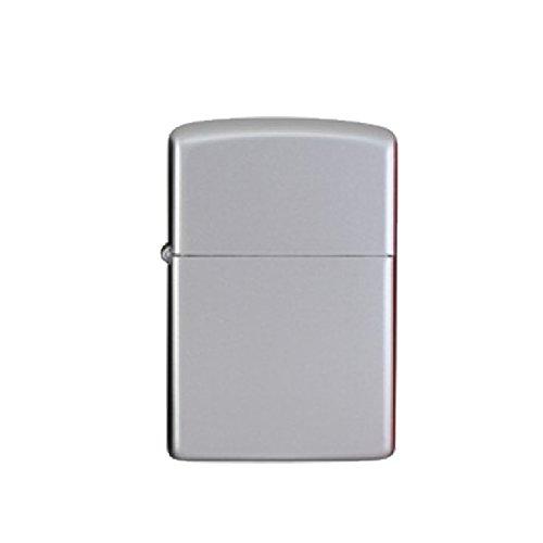 Sturmfeuerzeug AMERICAN STYLE Vollmetall Feuerzeug Jetflamme Easy Torch Outdoor (Silber)