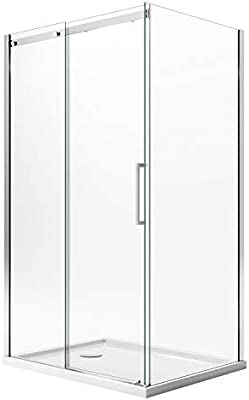 Idralite Mampara de Ducha 75x110 CM H200 Transparente Versión ...