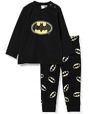 DeFacto T8224A2 Erkek Bebek Batman Lisanslı Pamuklu Pijama Takımı Erkek bebek