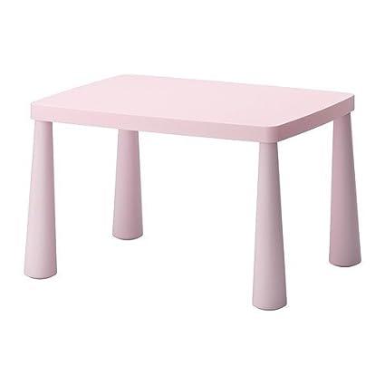 Mammut Tavolino Rotondo.Mammut Ikea Tavolino Per Bambini Colore Rosa Chiaro