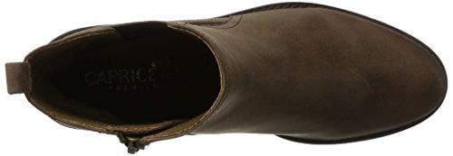 Caprice25303 - Botas Chelsea Mujer Marrón (Brown Antic)