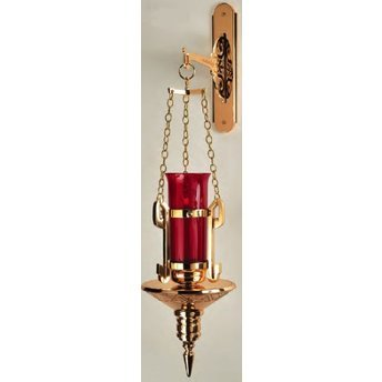 (Hanging Sanctuary Lamp with Bracket)