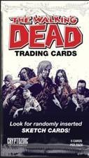 The Walking Dead Comic Series Trading Card Pack