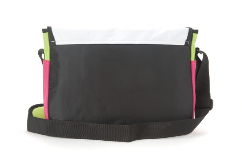 Adidas Club Messenger Messenger Shoulder Bag-Pink/Green/White