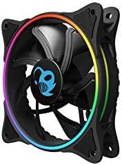 VENTILADOR 12CM COOLBOX DEEP IRIS 1100RPM A-RGB: Amazon.es ...