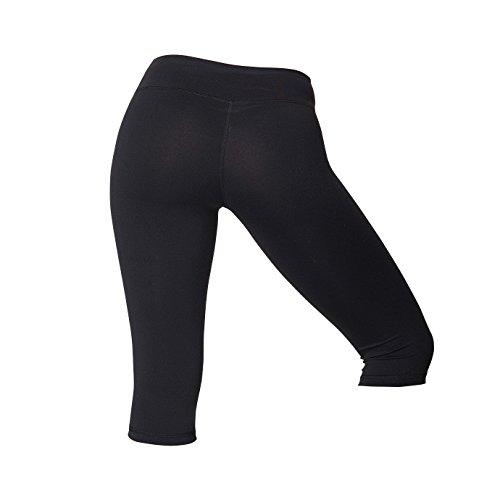 American Apparel Womens/Ladies Knee Length Fitness Leggings/Bottoms (S) (Black) Review