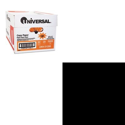 KITALL37336UNV21200 - Value Kit - Alliance Latex-Free Orange Rubber Bands (ALL37336) and Universal Copy Paper (UNV21200)