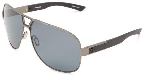Fox The Moter 06328-901-OS Polarized Aviator Sunglasses,Gunmetal & Grey Polarized,65 - Fox Aviator Sunglasses