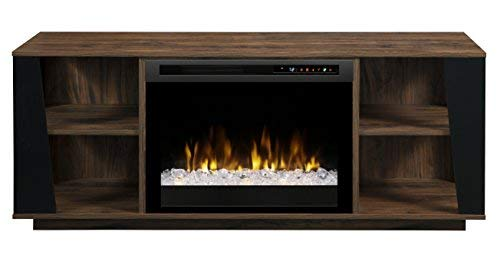 Dimplex arlo media console electric fireplace with glass - Going to bed with embers in fireplace ...