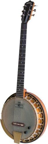 Deering Phoenix Acoustic/Electric 6-String Banjo Professional (6 String Banjo Deering)