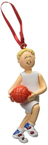 Ornament Central OC-100-MBL Male Blonde Basketball