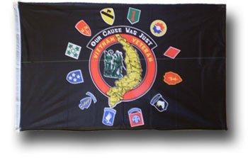 Vietnam Veterans  - 3' x 5' Polyester Military Flag
