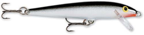 Rapala Original Floater 11 Fishing lure (Silver, Size- 11) (Shallow Runner)