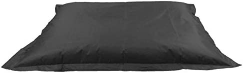 MaxiBean Kids Beanbag 6 way Large Garden Lounger Childrens Bean Bag Outdoor Water Resistant Floor Cushion Black