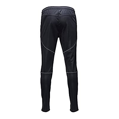 ONGASOFT Mens Pants Windproof Athletic Pants Outdoor Cycling Sport Pant Black