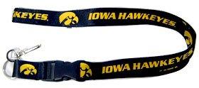 NCAA Iowa Hawkeyes Lanyard - Key Iowa Ncaa Ring Hawkeyes