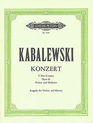 Kabalevsky: Violin Concerto in C Major, Op. 48
