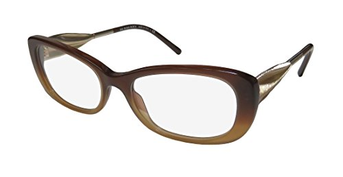 Burberry 2203f Womens/Ladies Cat Eye Full-rim Eyeglasses/Eyeglass Frame (54-17-135, Gradient Brown / - Burberry Ladies