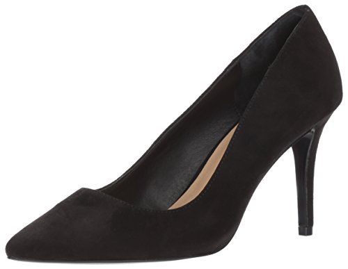 - Chinese Laundry Women's Ruthy Dress Pump, Black Suede, 8 M US