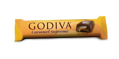 Godiva Caramel Supreme Chocolate Bar 1.5oz (12-pack)