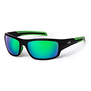Rapalla Storm Sunglasses Performance Polarized Fishing Eyewear - Reduces Reflection to See Below Waters Surface. 100% UVA, UVB and UBC Protection