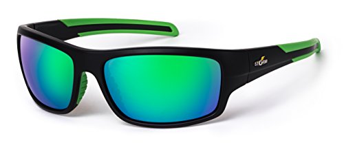 Performance Eyewear (Rapalla Storm Sunglasses Performance Polarized Fishing Eyewear - Reduces Reflection to See Below Waters Surface. 100% UVA, UVB and UBC Protection)