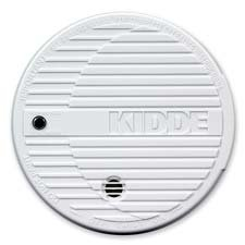 Kidde Fire and Safety : Smoke Alarm, Flashing LED, 9V Battery Included, White -:- Sold as 2 Packs of - 1 - / - Total of 2 Each
