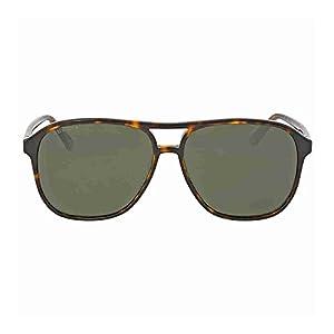 Gucci 0016S 007 Havana 0016S Round Sunglasses Polarised Lens Category 3 Size 58