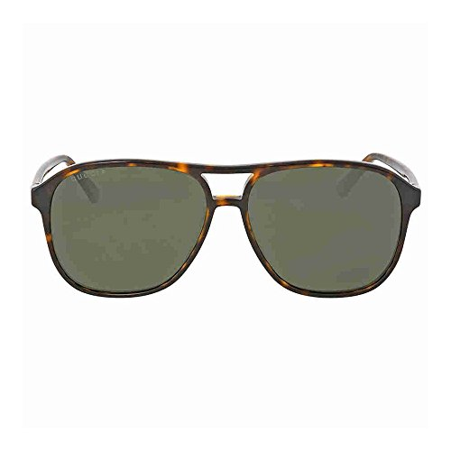 Gucci 0016S 007 Havana 0016S Round Sunglasses Polarised Lens Category 3 Size - Gucci Round Glasses