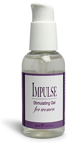 Impulse Natural Sexual Enhancement for Women, Arousal & Stimulating Intimacy Gel by Healthy Vibes 2 oz - Longer Lasting Water Based Lubricant Formula