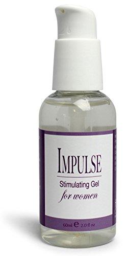 Gel Healthy (Impulse Female Stimulating Gel Lube 2 oz by Healthy Vibes, New & Improved Water Based Formula is stronger, slicker, & longer lasting)