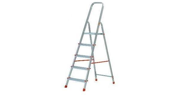 Gierre M262794 - Escalera aluminio kylate al150 5 peldaños: Amazon.es: Bricolaje y herramientas