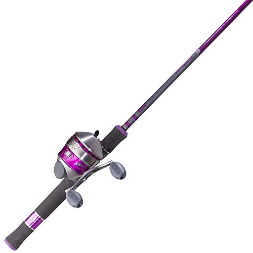 (Zebco 33 Ladies Spincast Fishing Reel and Rod Combo)